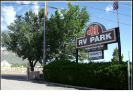 welcome to J & H RV Park in Flagstaff AZ